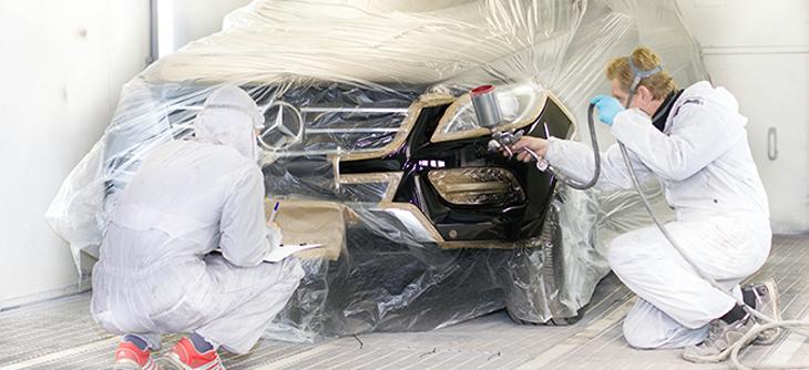 Локальная покраска автомобиля