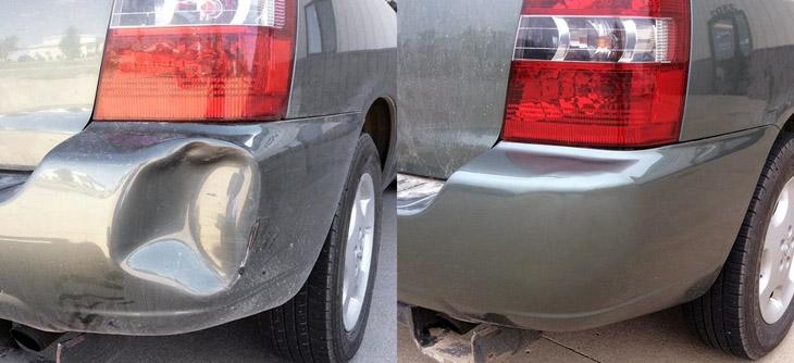 Ремонт вмятин на кузове автомобиля