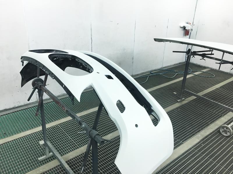 Ремонт кузова BMW 7