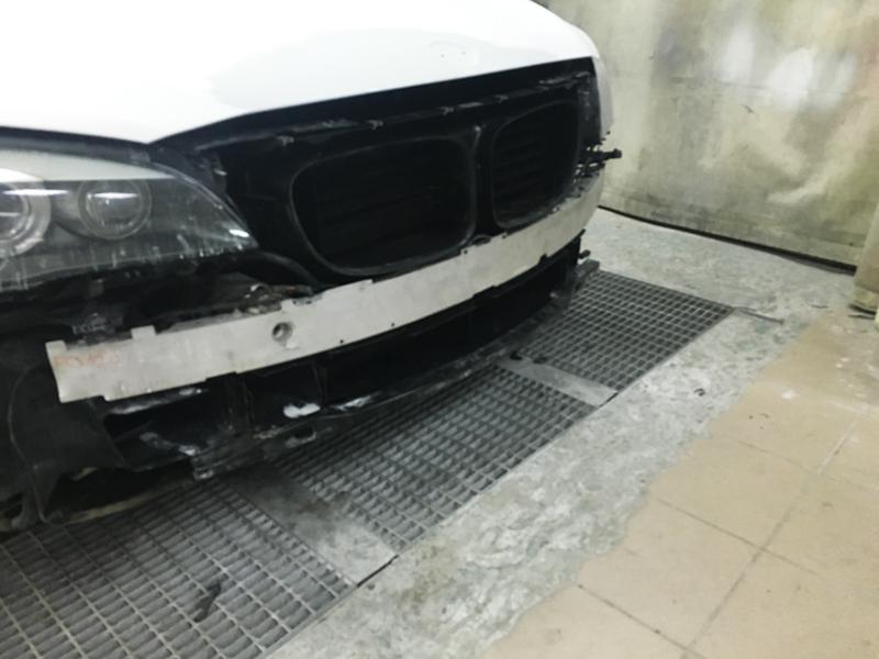 Кузовной ремонт БМВ 7
