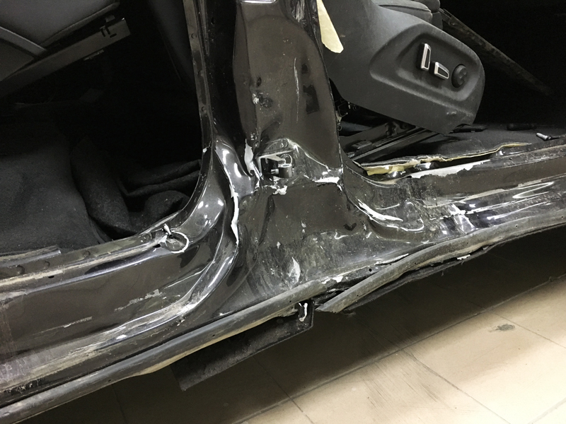 Ремонт кузова  Audi