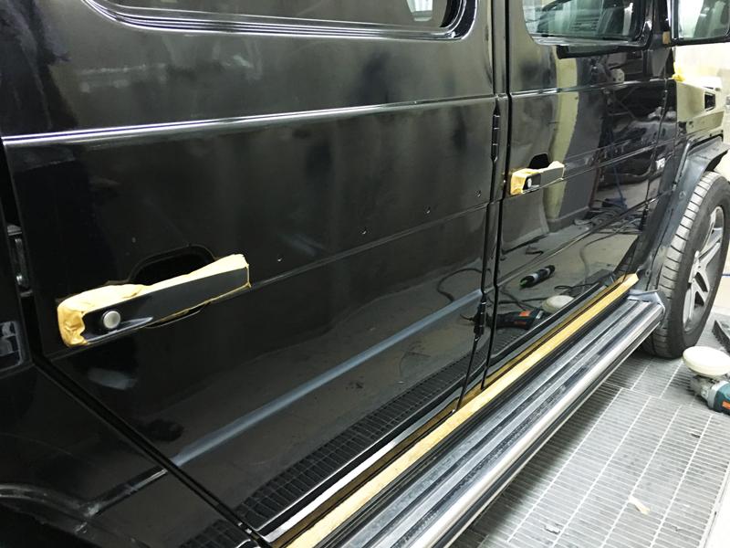 Подготовка Mercedes G