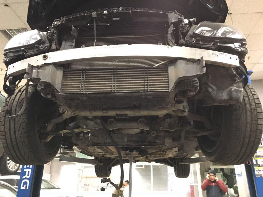 Кузовной ремонт Мерседес