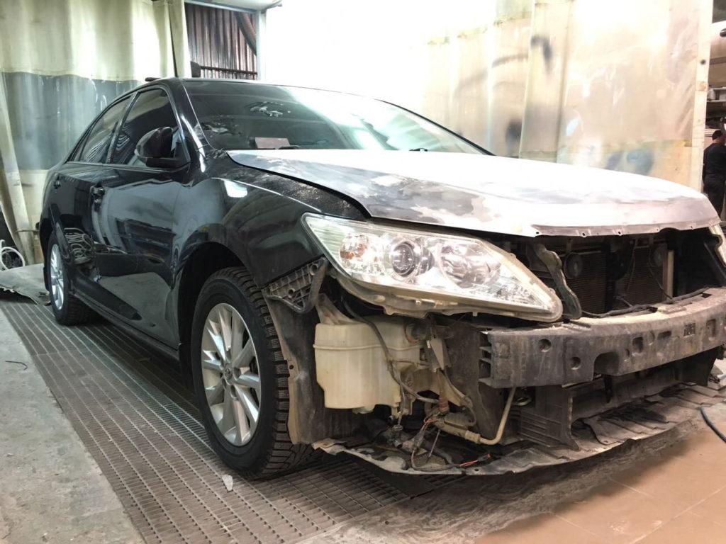 Кузовной ремонт Тойота