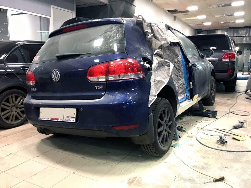 Ремонт кузова Volkswagen
